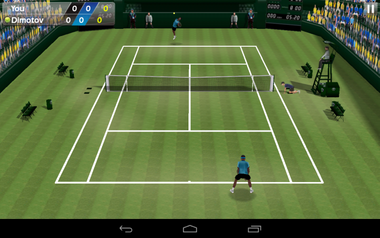 tennis 3d android