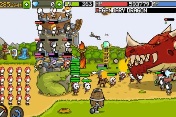 игра grow castle много денег